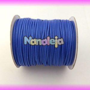 Algodón encerado 2mm azul