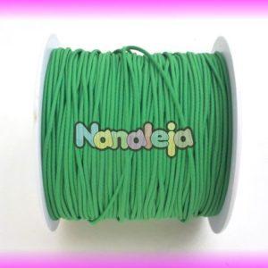 Goma elástica 1,5mm verde (precio por metro)