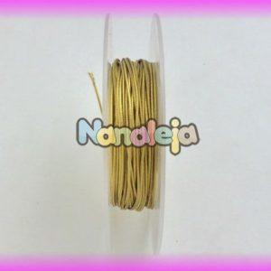 Goma elástica 1mm oro (precio por metro)