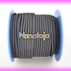 Goma elástica 2,5mm negro (precio por metro)