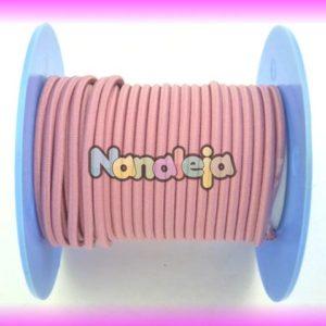 Goma elástica 2,5mm rosa maquillaje (precio por metro)