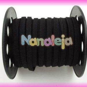 Antelina 5mm negro (precio por metro)