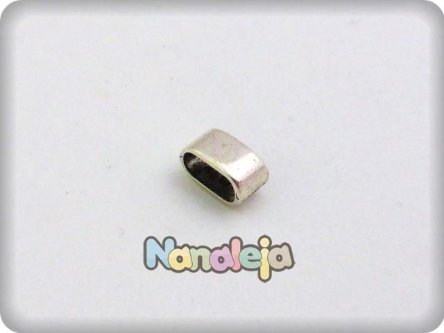 Entrepieza lisa zamak (int. 10X5mm)